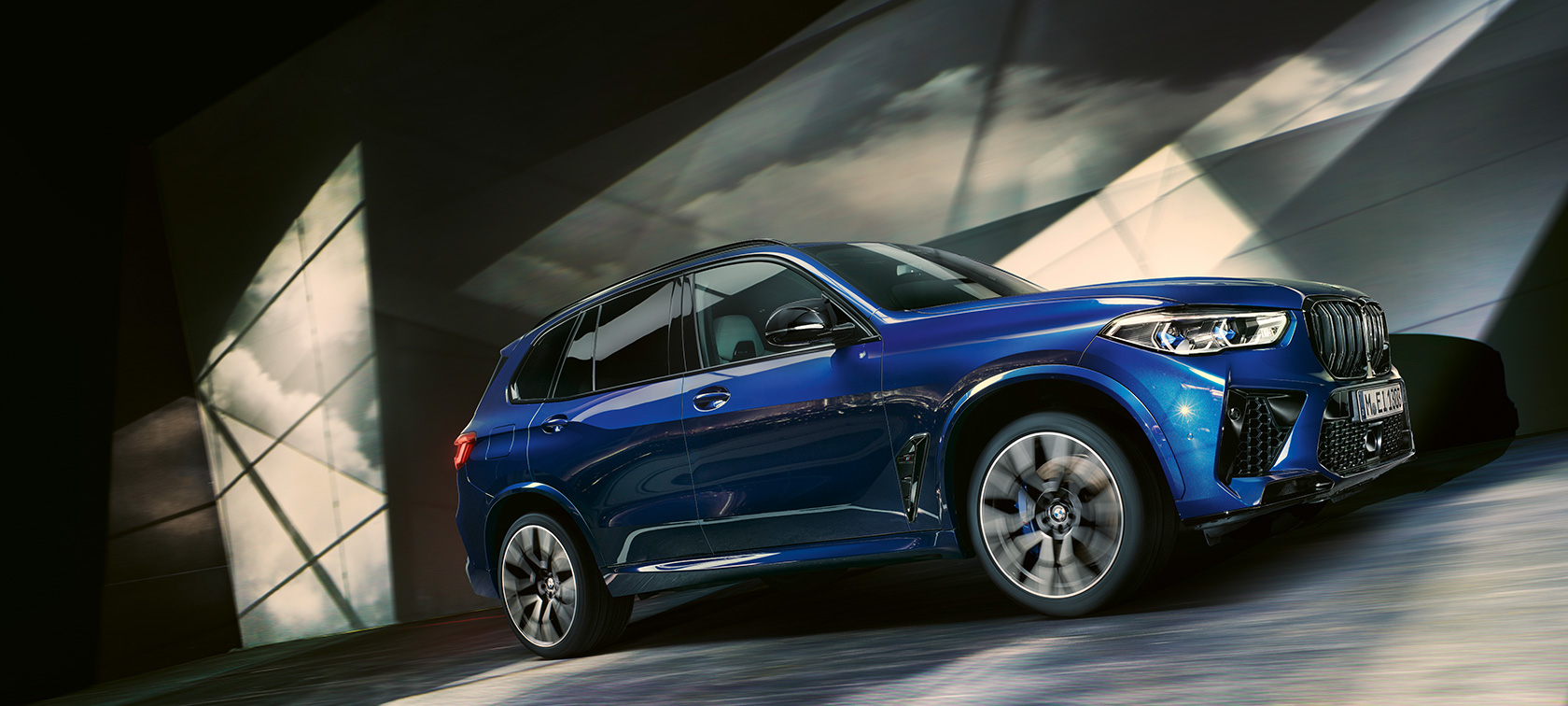 The BMW X5 M Automobiles F95 2020