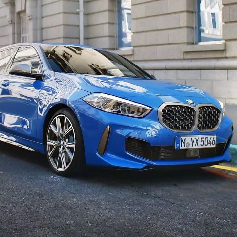 BMW 1 Series in moving images